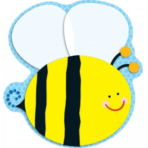 Bee Two-Sided Decorations - Year Round