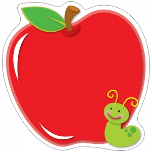 Apple Two-Sided Decorations - Year Round