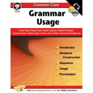 GR 6-8 COMMON CORE GRAMMAR USAGE  BOOK