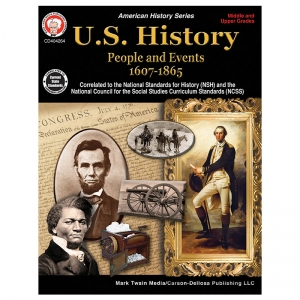 US HISTORY MIDDLE UPPER GRADES BOOK