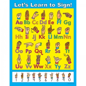 LETS LEARN TO SIGN CHART