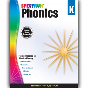Phonics Workbook, Grade K