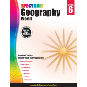 SPECTRUM GEOGRAPHY WORLD GR 6