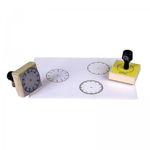 STAMP SET 3 CLOCK 5-MIN/60-MIN/HOUR  NUMERALS