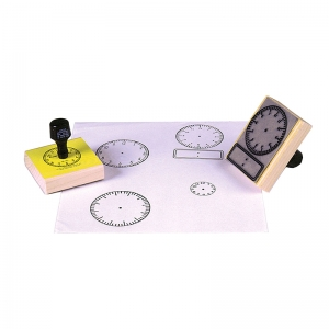 STAMP DIGITAL CLOCK 2-1/2 X 3-1/2
