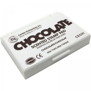STAMP PAD SCENTED CHOCOLATE BROWN