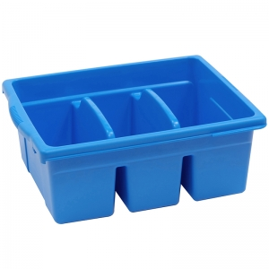 Leveled Reading Large Divided Book Tub, Blue