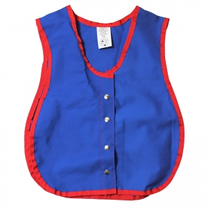 "Manual Dexterity Snap Vest, 13.5""W x 17.5""L"