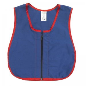 "Manual Dexterity Zipper Vest, 13.5""W, 17.5""L"