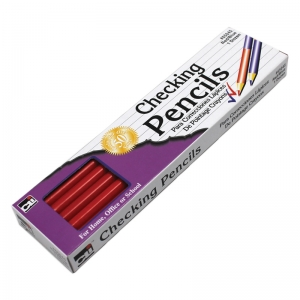 CHECKING PENCILS 12/PK RED & BLUE