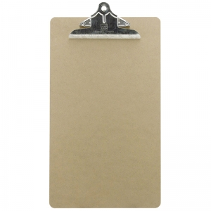 LEGAL SIZE HARDWOOD CLIPBOARD