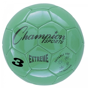 SOCCER BALL SIZE3 COMPOSITE GREEN
