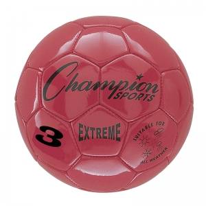SOCCER BALL SIZE3 COMPOSITE RED