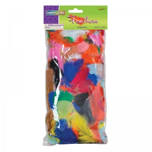 FEATHERS BRIGHT HUES 1 OZ BAG