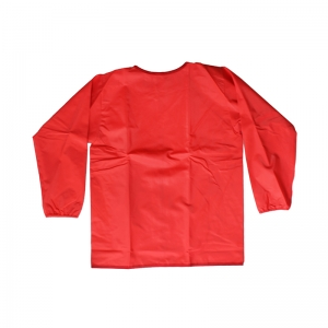 Creativity Street Long Sleeve Toddler's Smock, Red