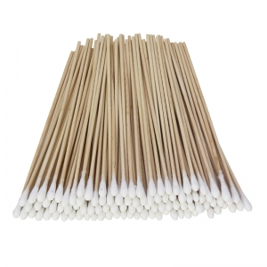 "Art & Craft Swabs, Natural Wood Handles, 6"" Long, 100 Count"