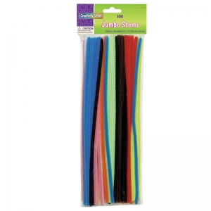"Jumbo Stems, Assorted, 12"" x 6 mm, 100 Pieces"