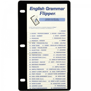 ENGLISH GRAMMAR FLIP UP STUDY GUIDE