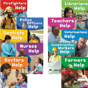 OUR COMMUNITY HELPERS SET OF ALL 10  TITLES