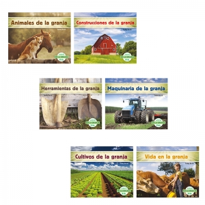 ABDO ON THE FARM SPANISH KID READER  DUAL LANGUAGE