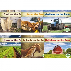 ABDO ON THE FARM ENGLISH KID READER  DUAL LANGUAGE