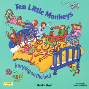 CLASSIC BOOKS-W-HOLES TEN LITTLE  MONKEYS