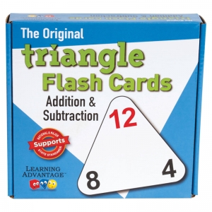 TRIANGLE FLASHCARDS ADD/SUB
