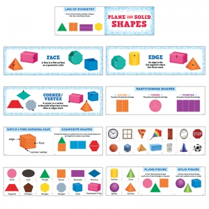 PLANE AND SOLID SHAPES MINI BB SET