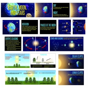 EARTH MOON AND STARS MINI BB ST  GR. 1 AND UP
