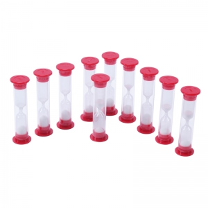 1 Minute Sand Timers, Set of 10