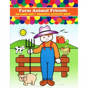 Do�A�Dot Art! Farm Animal Friends Creative Art & Activity Book