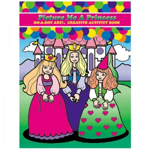 Do�A�Dot Art! Picture Me A Princess Creative Art & Activity Book