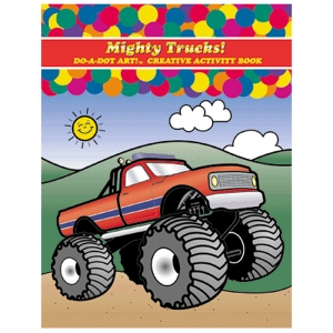 Do�A�Dot Art! Mighty Trucks! Creative Art & Activity Book
