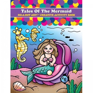 Do�A�Dot Art! Tale of the Mermaids Creative Activity Book