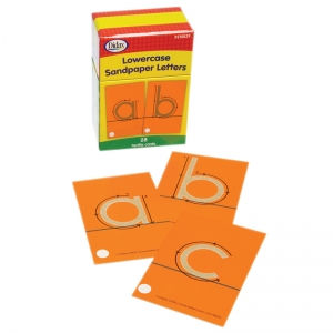 TACTILE SANDPAPER LOWERCASE LETTERS