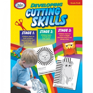 Developing Cutting Skills Book, Early Years
