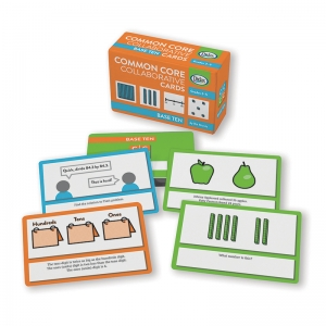 BASE TEN COMMON CORE COLLABORATIVE  CARDS