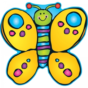 Butterfly Two-Sided Decorations - Year Round