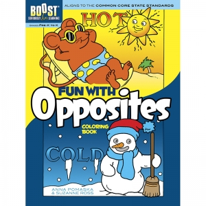 BOOST Fun with Opposites Coloring Book
