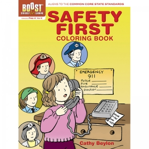 BOOST Safety First Coloring Book