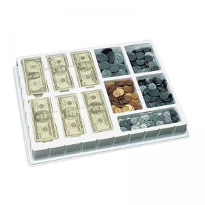Play Money, Coins & Bills Deluxe Set