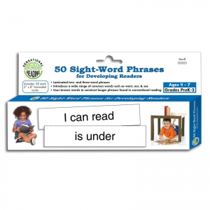 50 SIGHT WORD PHRASES FOR  DEVELOPING READERS