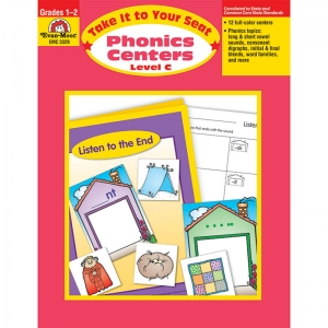 Take It to Your Seat Phonics Centers Book, Grades 1-2