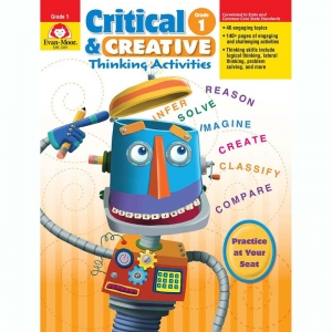 Critical and Creative Thinking Activities Book, Grade 1