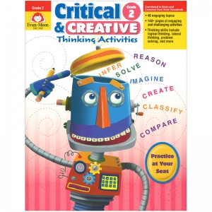 Critical and Creative Thinking Activities Book, Grade 2