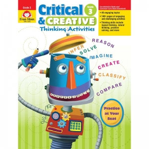 Critical and Creative Thinking Activities Book, Grade 3