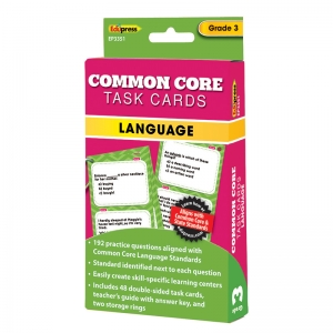 GR 3 COMMON CORE LANGUAGE TASK  CARDS