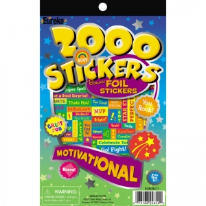 2000 MOTIVATIONAL STICKER BOOK