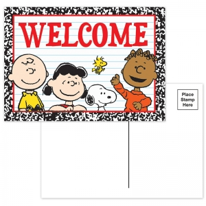PEANUTS WELCOME TEACHER CARDS