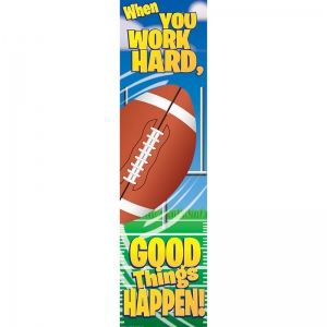 Football Motivational Banner, 4'